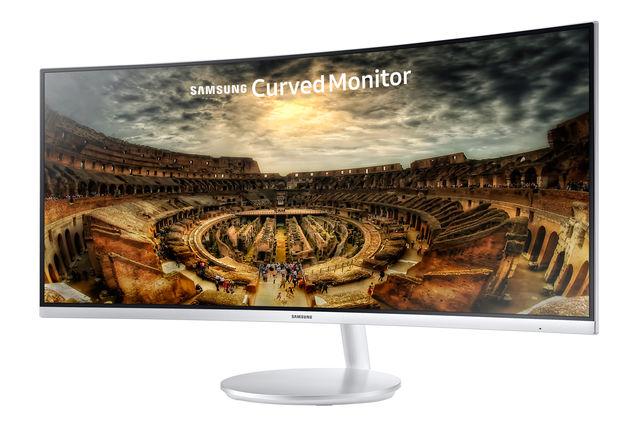 Samsung C34F791 Curved Monitor mit Quantum-Dot-Technologie