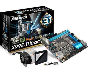 Erstes Mainboard mit X99-Chipsatz im Mini-ITX-Format erschienen