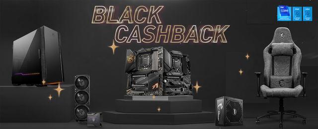 Neue Cashback Aktion von MSI